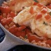 Herbed Tomatoes, Chicken and Rice